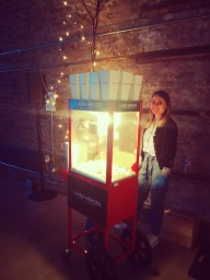 Branded Popcorn Cart Hire