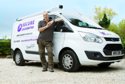 Secure Locksmiths Cheltenham van