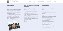 party wall fees