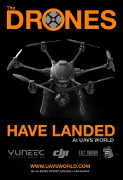 The Drones Have Landed! at UAVs World