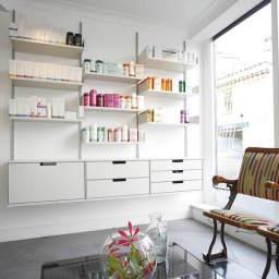 Material Hair Salon Reception