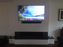 Hoffman Digital Installations Ltd. TV wall mount.