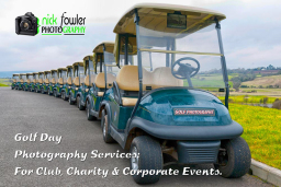 Corporate golf day photography