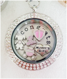 Special Mum Floating Locket with Charms