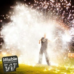 Warble Entertainment Agency Singer In Lights