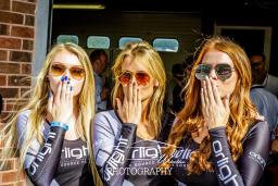 Hostesses for Track Day event