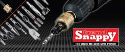 Snappy quick change drilling tools and accessories