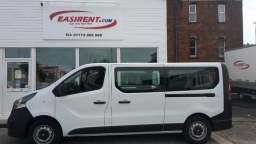 Our 9 Seater Minibus