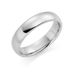 Platinum wedding rings in Hatton Garden