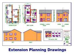 Extension Planning Drawings