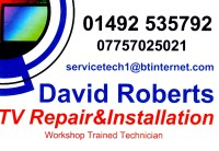 David Roberts TV Repair&Installation