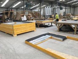 Timber Frame Panel Poduction