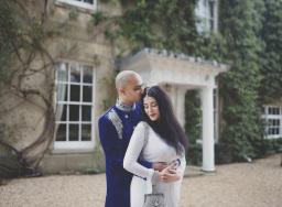 Creative Yorkshire wedding photographer