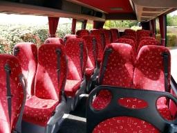 26 seater interior