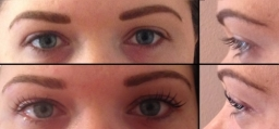 LVL Natural Lash Enhancement - Before And After