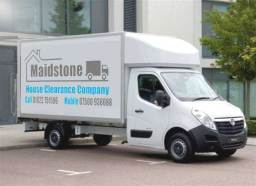 maidstone house clearance van out a job