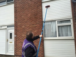 UPVC Cladding Cleaning