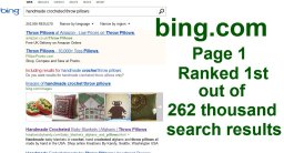 Client BING ranking with organic SEO