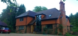 A new house in Westcott