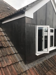 Leadwork and repair work to dormer