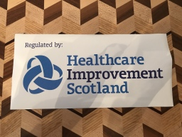 Regulated by Healthcare Improvement Scotland