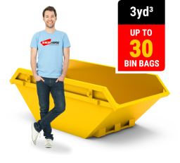 3 CUBIC YARD MINI SKIP