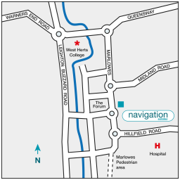 67 Marlowes Map