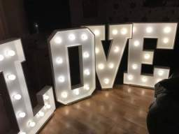 Our 4ft love letters