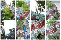 London Mosaic by Squared Circle Mosaic Studio