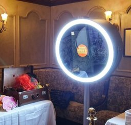 Our Vanity style selfie mirror will bring the glam