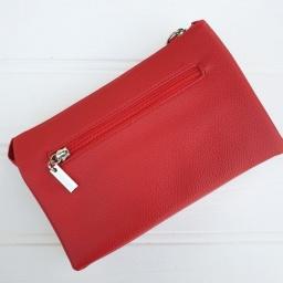 Red Crossbody, 3 in 1 Clutch Bag