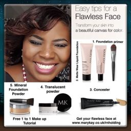 Mary Kay Flawless face