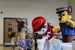 BRADFORD PAW PATROL MASCOT HIRE MANNED UNMANNED