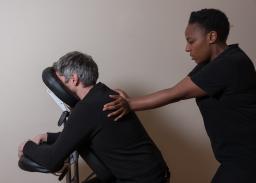 corporate seated massage