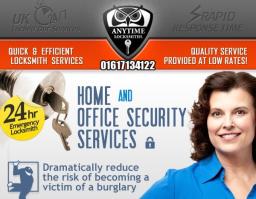 Anytime Locksmiths | 01617134122