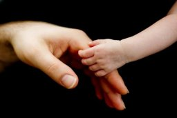 Daddy and Baby hand picture Leeds