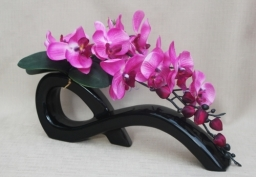 Artificial Flowers Pink Orchid