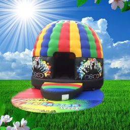 Adult multicolour Disco Dome