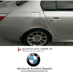 BMW 520 Before