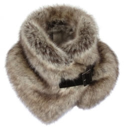 Helen Moore Truffle Buckle Collar