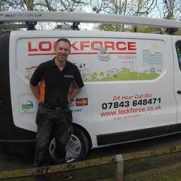 Carl at Lockforce Locksmiths Leeds