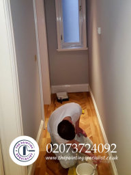Painting Skirting Boards in London