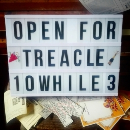We open for Treacle Market on the last Sunday of the month
