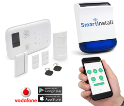 Home Burglar Alarm System that alerts you by SMS