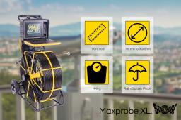 The Maxprobe XL drain camera