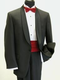Black Shawl Collar