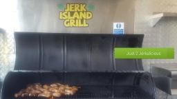 Jerk Chicken Fresh Off The Grill