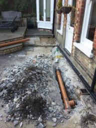 Drainage repair by Jonny
