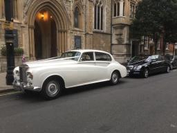 LWB Silver Cloud Rolls Royce & Mercedes