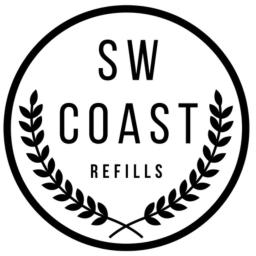 SW Coast Refills - Black & White Logo
